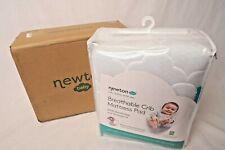 Newton Baby Waterproof Crib Mattress Pad Protector-Breathable-Hypo allergenic