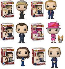 Funko POP! Royals ~ ENGLISH ROYAL FAMILY VINYL FIGURE SET ~ Diana, Prince Harry+