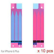"""10 X Batería Pegamento Adhesivo Cinta Adhesiva Tira Para Apple iPhone 6 Plus 5.5"""""""