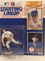1990 Starting Lineup Nolan Ryan Baseball figure Card toy Texas Rangers HOF SLU