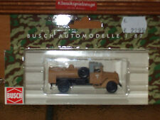 Busch Auto-& Verkehrsmodelle aus Kunststoff
