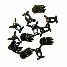 Plastic Plant Clips For Fastening & Fixing Orchids & other Flowers (100 Clips)