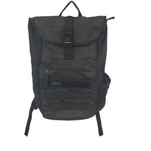 Timbuk2 Spire Flip Top Backpack Messenger Bag Laptop Sleeve Black