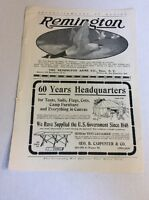 1902 MAGAZINE AD #A3-123 - Remington Arms Co.