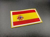PARCHE BANDERA ESPAÑA FLAG SPAIN PATCH PAISES MUNDO ROPA MILITAR DEPORTE PLANCHA