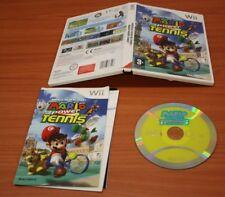 JEU Nintendo WII  MARIO POWER TENNIS     complet