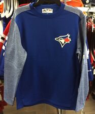 Toronto Blue Jays Majestic Royal On-Field Training Top AC Tech Fleece MLB Large