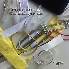 FLORALEDA SACCHI (JOHN CAGE), HAPPY BIRTHDAY JOHN!, SEALED 25 TRACK CD FROM 2012