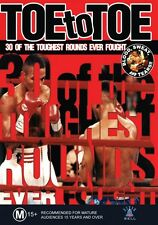 TOE TO TOE - BOXING SLUGFEST NEW &SEALED DVD FREE LOCAL POST