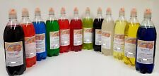 Slush Syrup Concentrate 1LTR Message with flavour