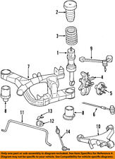 FORD OEM Stabilizer Sway Bar-Rear-Link XW4Z5C487AA
