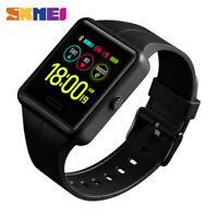 SKMEI Fashion Sports Men's Smart Watch Blood Pressure Heart Rate Monitor 1526 A