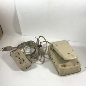 vintage MERCURY ELECTRIC Sewing Machine Foot Pedal 701/702