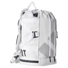 adidas ORIGINALS MEN'S EQT DUFFEL BACKPACK BAG WHITE WALKING HIKING TOUGH STRONG