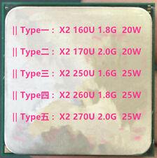 AMD Athlon X2-160U X2-170U X2-250U X2-260U X2-270U II Socket AM3 938 Pines 25W CPU