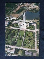 LOUISIANA LA Baton Rouge State Capital Aerial View Postcard