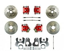 82-88 G-Body Rear Disc Brake Conversion W/ Matching Front - Without E-Brake