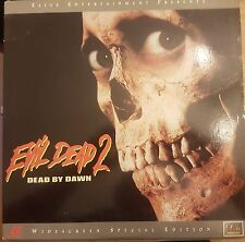 Evil Dead 2 Widescreen Special Edition Laser Disc