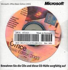 MS Office 2003 Basic OEM Vollversion deutsch neu inkl. Excel 2003+Outlook