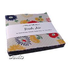 """Charm Pack """"Polka-Dots & Paisleys"""" bunt Moda Patchwork Stoff 42 Scraps à 12,7cm"""