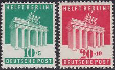 US- & Britische Zone 101/2 ** Berlin Hilfe, postfrisch