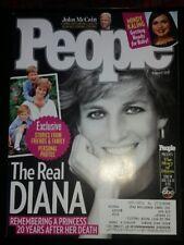 PRINCESS DIANA People Magazine 8/7/17 Anna Faris O.J. Simpson MINT NBR