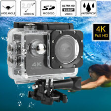 Ultra 4K HD 1080P WiFi DV Action Sports Camera Video Camcorder Waterproof Case