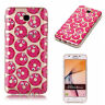 For Samsung Galaxy Phone Rubber IMD TPU Silicone Shockproof Soft Cover Back Case