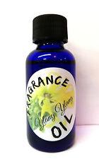 Ylang Ylang 1oz Blue Glass Bottle of Skin Safe Fragrance Oil infused essential