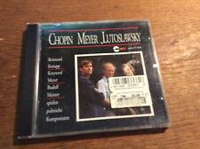 Chopin Meyer Lutoslawsky - Polnische Cellosonaten [CD Album] Korupp Meister