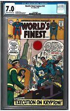 WORLD'S FINEST COMICS #191 CGC 7.0 (2/70) DC comics