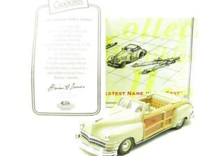 Matchbox Collectibles DYG10-M 1947 Chrysler Town and Country 1.43 Scale Boxed