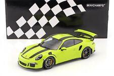 1:18 Minichamps 153066225 Porsche 911 991 GT3 RS 2015. Green / black stripes