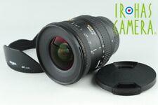 Sigma EX 10-20mm F/4-5.6 DC Lens for Sigma SA / Pentax K #21876 F4