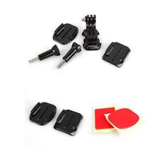 Camera Helmet Front Mount Adhesive Kit for GoPro Hero 3 2 1 Black Kit 7pcs FR