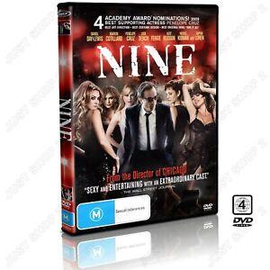 NINE DVD : (2009) Movie : Daniel Day Lewis / Kate Hudson : Brand New
