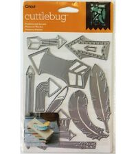 Cricut Cuttlebug Cut & Emboss Die Set - Feathers and Arrows #575 -NEW!!