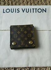 LOUIS VUITTON MONOGRAM TRAVEL MINI JEWELRY EARRING OR NECKLACE CASE