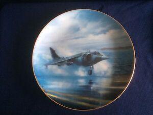 "Danbury Mint The Classic RAF Aircraft ""Hawker Siddeley Harrier"" plate"