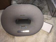 Philips Grey White iPhone/iPod Docking Speaker