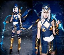 PRECO League of legends Ashe cosplay costume déguisement