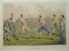 Henry Alken a prize Fight Boxe de boxe boxeur boxing match poing combat poing