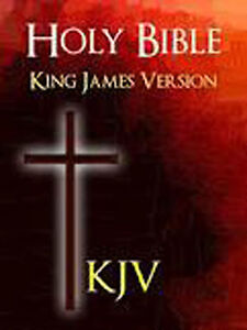 The Holy Bible Audio DVD Listen Read PDF MSword & Notepad King James Version