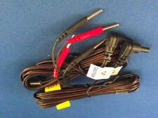 """2 Electrode Replacement TENS Unit Lead Wires with Pin Connectors, 45"""" - 2 ea"""