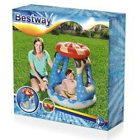 Bestway Paddling Pool Kids Swimming Childrens Sun Shade Garden Play Pool 91cm