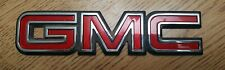 "GMC Logo 7"" Emblem Badge Safari Yukon Hatch Truck Tailgate OEM 15029627"