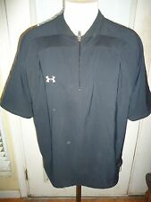 Mens Black Under Armour Athletic Casual Shirt. Size Large