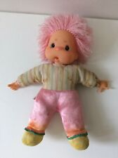 Vintage Fiba Italy Soft Rosebonbon Doll Rose Bon Bon Thumb Sucking 11""