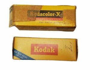 2 Vintage Kodak Kodacolor-X CX620 Film  1 Sealed, 1 Open Box In Unopened Wrapper