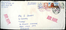 USA 1989 Commercial Airmail Cover To England #C32703